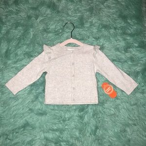 NWT   Wonder Nation   12 M   Gray sweater